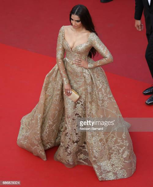 Actor Sonam Kapoor attends the 'The Killing Of A Sacred Deer' screening during the 70th annual Cannes Film Festival at Palais des Festivals on May 22...