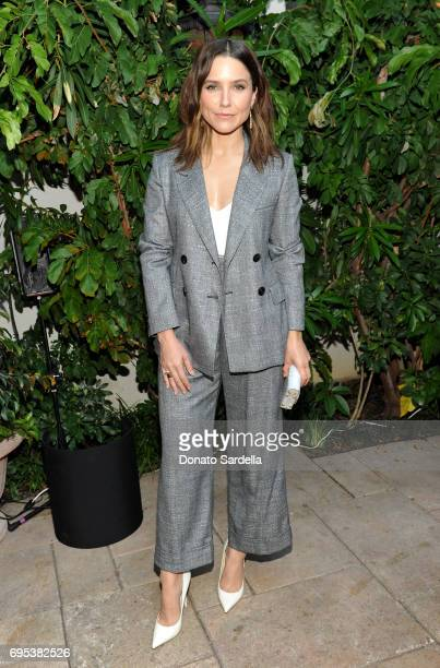 Actor Sophia Bush wearing Max Mara at Max Mara Celebrates Zoey Deutch The 2017 Women In Film Max Mara Face of the Future at Chateau Marmont on June...