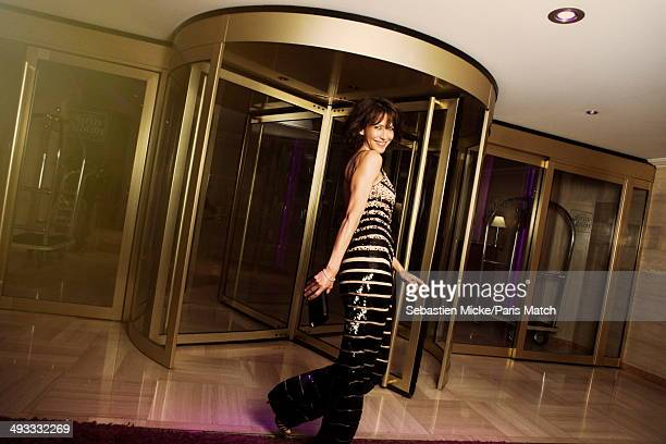 Actor Sophie Marceau is photographed for Paris Match on May 17 2014 in Cannes France