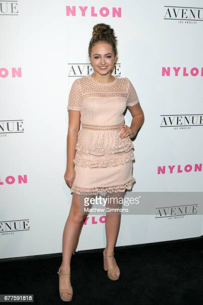 Actor Sophie Reynolds attends NYLON's Annual Young Hollywood May Issue Event at Avenue on May 2 2017 in Los Angeles California