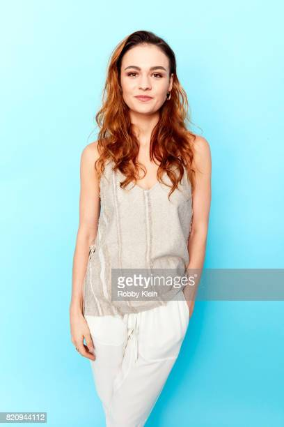 Actor Sophie Skelton from Starz' 'Outlander' poses for a portrait during ComicCon 2017 at Hard Rock Hotel San Diego on July 21 2017 in San Diego...