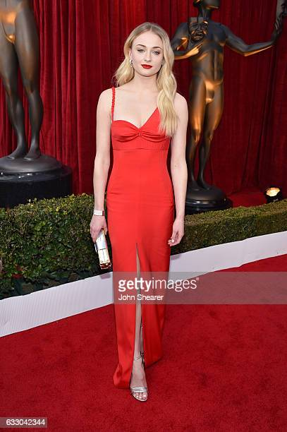 Actor Sophie Turner attends The 23rd Annual Screen Actors Guild Awards at The Shrine Auditorium on January 29 2017 in Los Angeles California