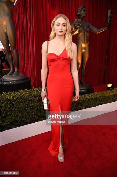 Actor Sophie Turner attends The 23rd Annual Screen Actors Guild Awards at The Shrine Auditorium on January 29 2017 in Los Angeles California 26592_011