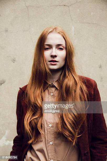Actor Sophie Turner is photographed for Untitled magazine on March 30 2015 in London England