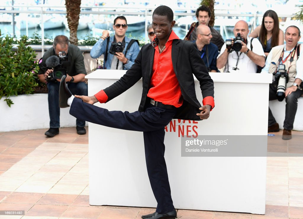 Actor Souleymane Deme attends the photocall for 'Grigris' during The 66th Annual Cannes Film Festival on May 22, 2013 in Cannes, France.