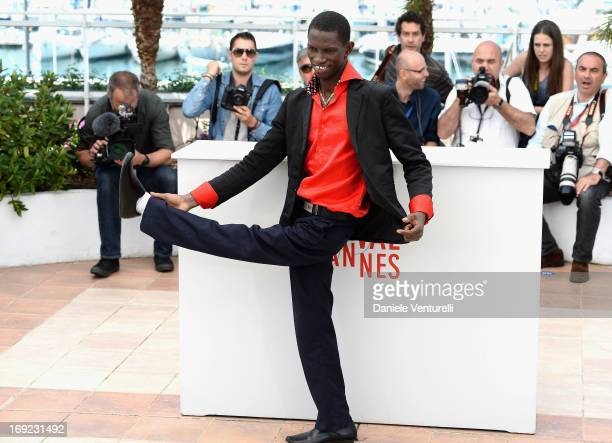 Actor Souleymane Deme attends the photocall for 'Grigris' during The 66th Annual Cannes Film Festival on May 22 2013 in Cannes France