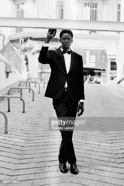 Actor Souleymane Seye Ndiaye is photographed on May 26 2017 in Cannes France