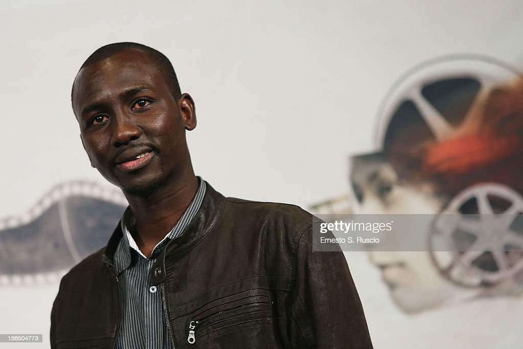 Actor Souleymane Sow attends the 'Cosimo E Nicole' Photocall during the 7th Rome Film Festival at Auditorium Parco Della Musica on November 16, 2012 in Rome, Italy.