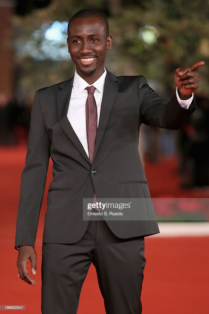 Actor Souleymane Sow attends the 'Cosimo E Nicole' Premiere during the 7th Rome Film Festival at Auditorium Parco Della Musica on November 16, 2012 in Rome, Italy.