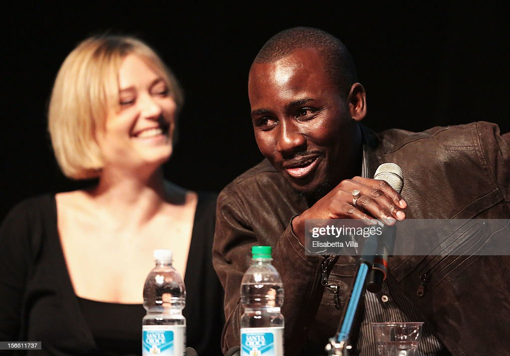 Actor Souleymane Sow attends the 'Cosimo E Nicole' Press Conference during the 7th Rome Film Festival at the Auditorium Parco Della Musica on November 16, 2012 in Rome, Italy.