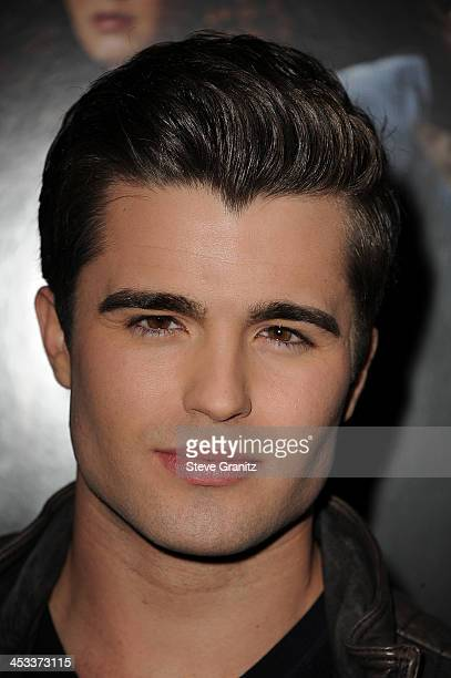 Actor Spencer Boldman arrives at the Los Angeles Premiere of 'American Hustle' at the Directors Guild Theatre on December 3 2013 in West Hollywood...