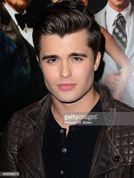 Actor Spencer Boldman arrives at the special screening of Columbia Pictures and Annapurna Pictures' 'American Hustle' at the Directors Guild Theatre...