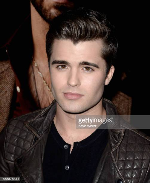 Actor Spencer Boldman attends Columbia Pictures And Annapurna Pictures' 'American Hustle' Special Screening at Directors Guild Of America on December...