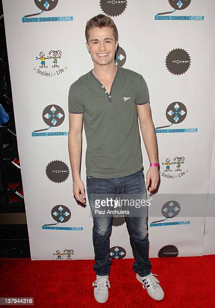 Actor Spencer Boldman attends the 'Lights Camera Cure 2012 Hollywood DanceAThon' at Avalon on January 29 2012 in Hollywood California