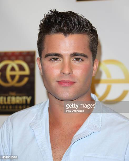 Actor Spencer Boldman attends the The Celebrity Experience Interactive Event at Universal Studios Hollywood on July 9 2014 in Universal City...