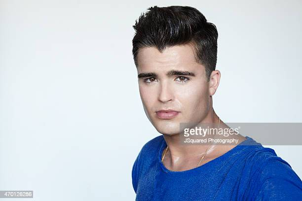 Actor Spencer Boldman is photographed for Self Assignment on June 29 2014 in Los Angeles California