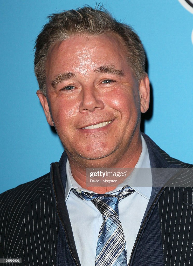 Actor Spencer Garrett attends the opening night of 'Freud's Last Session' at The Broad Stage at the Santa Monica College Performing Arts Center on January 16, 2013 in Santa Monica, California.