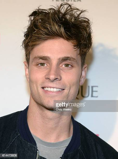 Actor Spencer Sutherland attends NYLON Nights Los Angeles in celebration of the October It Girl issue hosted by cover star Tinashe at Doheny Room on...