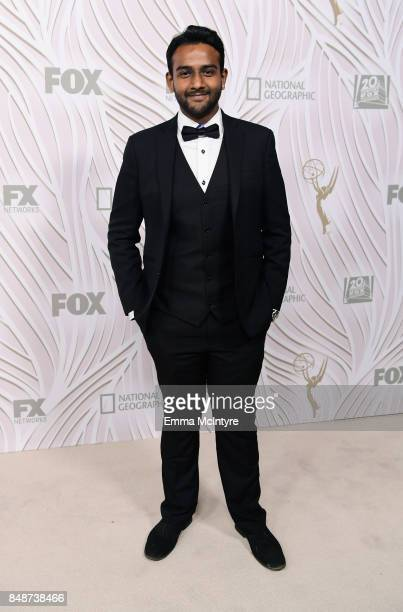 Actor Sri Batchu attends FOX Broadcasting Company Twentieth Century Fox Television FX And National Geographic 69th Primetime Emmy Awards After Party...