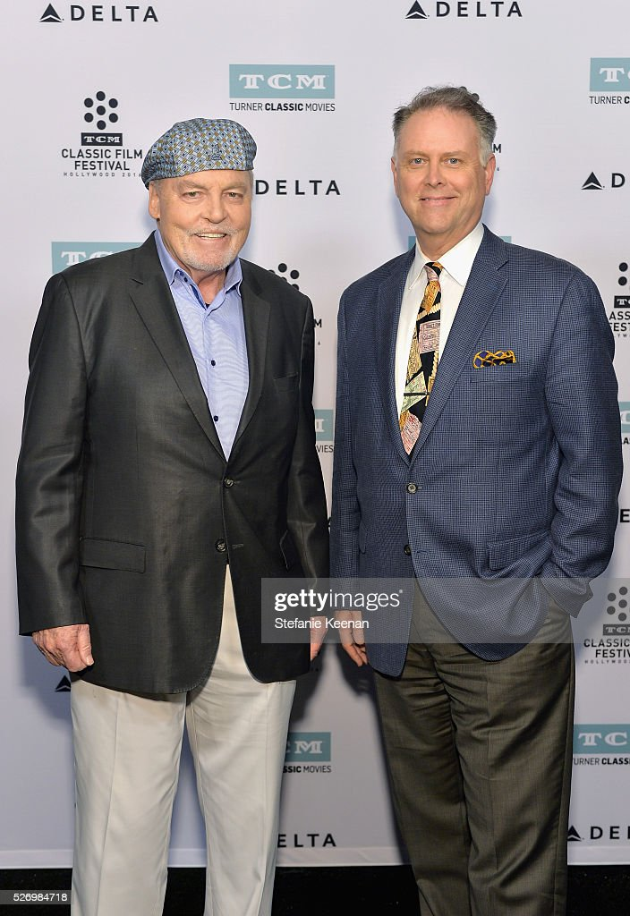 Actor Stacy Keach (L) and writer Eddie Muller attend 'Fat City' screening during day 4 of the TCM Classic Film Festival 2016 on May 1, 2016 in Los Angeles, California. 25826_005