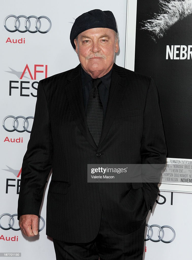 Actor <a gi-track='captionPersonalityLinkClicked' href=/galleries/search?phrase=Stacy+Keach&family=editorial&specificpeople=742852 ng-click='$event.stopPropagation()'>Stacy Keach</a> attends the screening of 'Nebraska' during AFI FEST 2013 presented by Audi at TCL Chinese Theatre on November 11, 2013 in Hollywood, California.