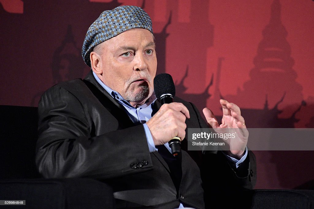 Actor Stacy Keach speaks onstage during 'Fat City' screening during day 4 of the TCM Classic Film Festival 2016 on May 1, 2016 in Los Angeles, California. 25826_005
