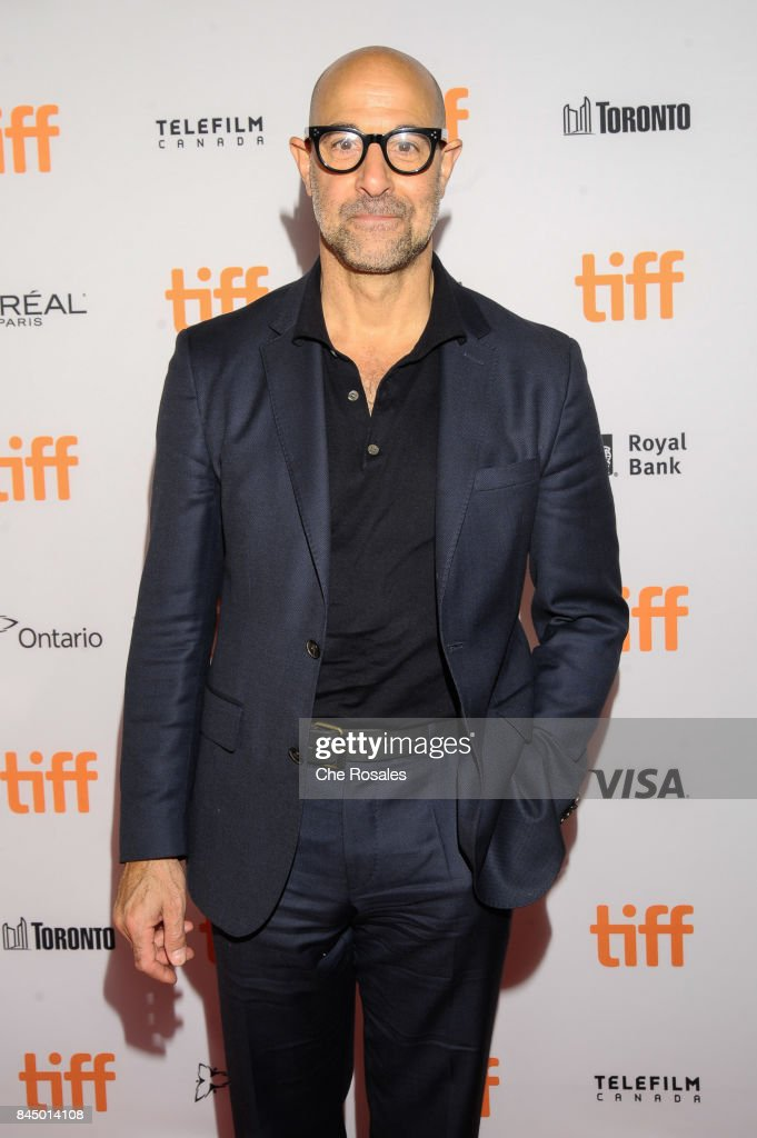 Actor Stanley Tucci arrives at The Elgin on September 9, 2017 in Toronto, Canada.