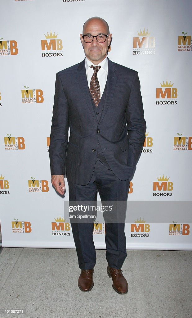 Actor <a gi-track='captionPersonalityLinkClicked' href=/galleries/search?phrase=Stanley+Tucci&family=editorial&specificpeople=209366 ng-click='$event.stopPropagation()'>Stanley Tucci</a> attends the 2012 Mario Batali Foundation Honors Dinner at Del Posto Ristorante on September 9, 2012 in New York City.