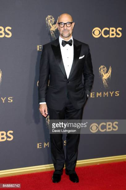 Actor Stanley Tucci attends the 69th Annual Primetime Emmy Awards Arrivals at Microsoft Theater on September 17 2017 in Los Angeles California