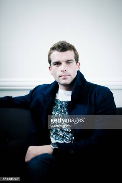 Actor Stanley Weber is photographed for Grazia Magazine on September 2015 in Deauville France