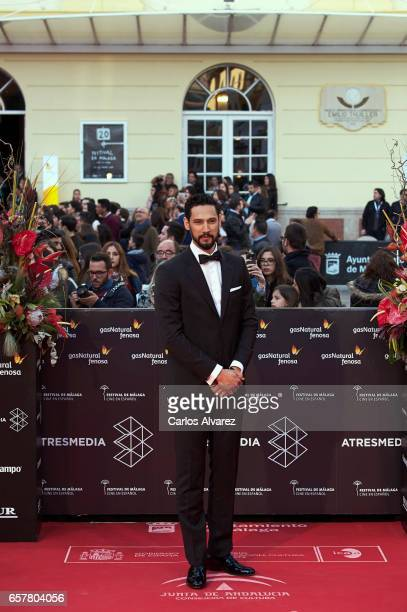 Actor Stany Coppet attends the 20th Malaga Film Festival closing ceremony at the Cervantes Teather on March 25 2017 in Malaga Spain