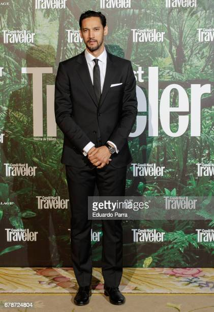 Actor Stany Coppet attends the 'Conde Nast Traveler awards' photocall at Ritz hotel on May 4 2017 in Madrid Spain