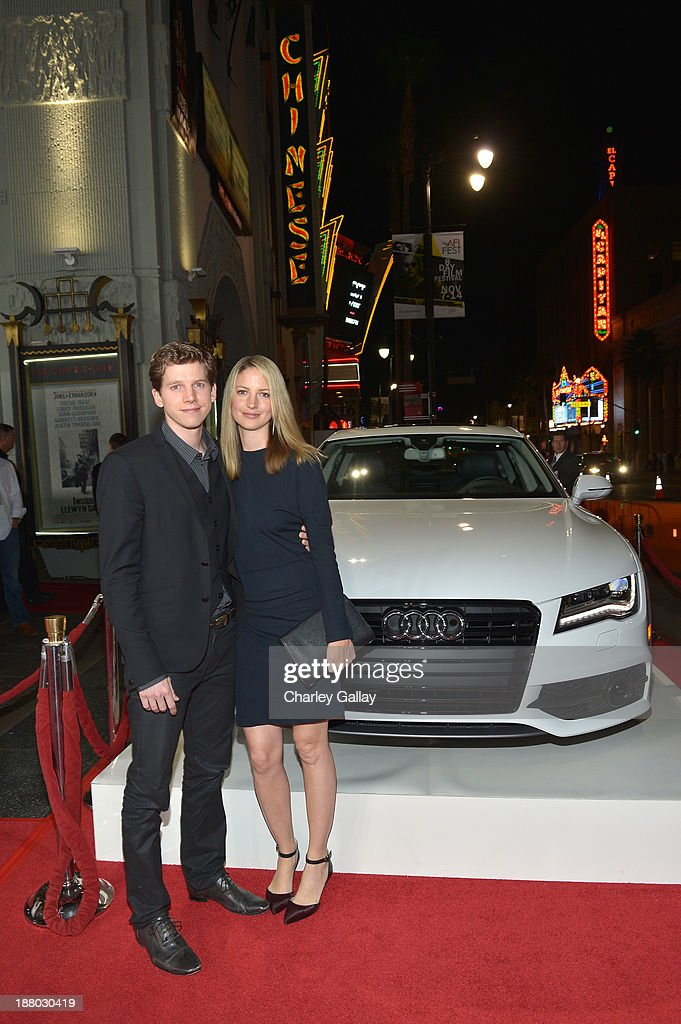 Actor Stark Sands and Gemma Sands attend the 'Inside Llewyn Davis' Gala Screening during AFI FEST 2013 presented by Audi at TCL Chinese Theatre on November 14, 2013 in Hollywood, California.