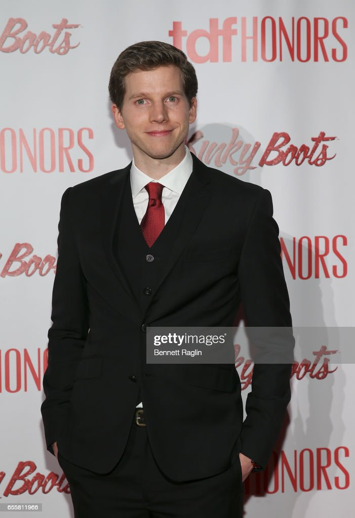 Actor Stark Sands attends TDF Honors Broadway's 'Kinky Boots' at Marriott Marquis Times Square on March 20, 2017 in New York City.