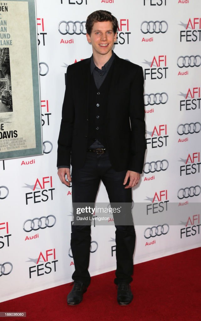 Actor Stark Sands attends the AFI FEST 2013 presented by Audi Closing Night Gala Screening of 'Inside Llewyn Davis' at the TCL Chinese Theatre on...