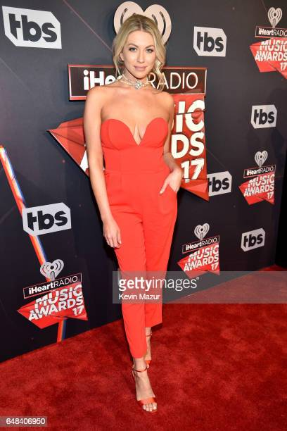 Actor Stassi Schroeder attends the 2017 iHeartRadio Music Awards which broadcast live on Turner's TBS TNT and truTV at The Forum on March 5 2017 in...