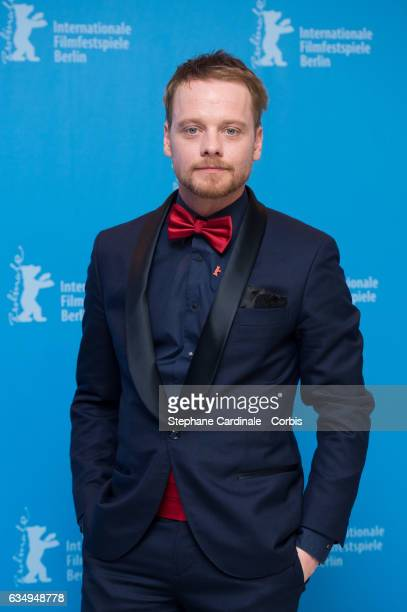 Actor Stefan Konarske attend the 'The Young Karl Marx' photo call during the 67th Berlinale International Film Festival Berlin at Grand Hyatt Hotel...