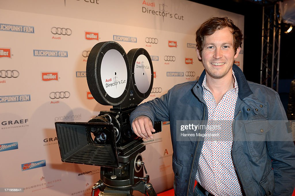 Actor Stefan Murr attends the Audi Director's Cut during the Munich Film Festival 2013 on June 29, 2013 in Munich, Germany.