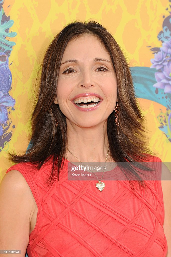 Actor Stefanie Wilder Taylor attends Nickelodeon's 27th Annual Kids' Choice Awards held at USC Galen Center on March 29, 2014 in Los Angeles, California.