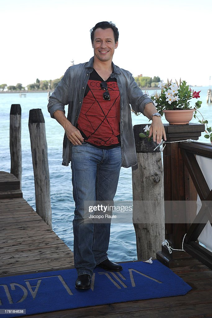Actor Stefano Accorsi attends a photocall during the 70th Venice International Film Festival at the Hotel Villa Laguna on August 27, 2013 in Venice, Italy.