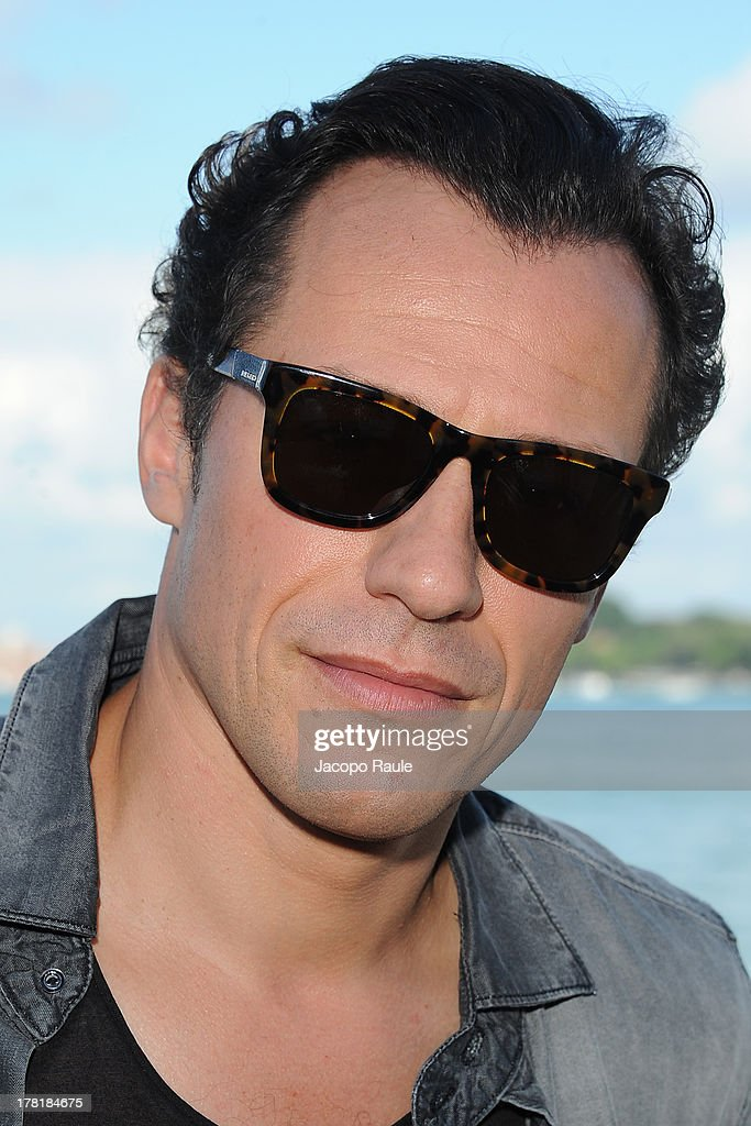 Actor <a gi-track='captionPersonalityLinkClicked' href=/galleries/search?phrase=Stefano+Accorsi&family=editorial&specificpeople=221569 ng-click='$event.stopPropagation()'>Stefano Accorsi</a> attends a photocall during the 70th Venice International Film Festival at the Hotel Villa Laguna on August 27, 2013 in Venice, Italy.