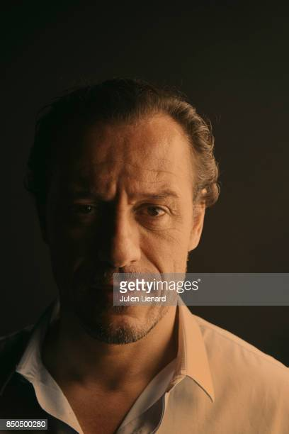 Actor Stefano Accorsi is photographed for Self Assignment on May 21 2017 in Cannes France