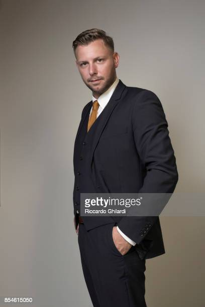 Actor Steinpor Hroar Steinporsson is photographed for Sef Assignment on August 31 2017 in Venice Italy