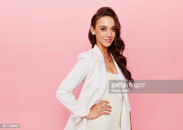 Actor Stella Maeve from Syfy's 'The Magicians' poses for a portrait during ComicCon 2017 at Hard Rock Hotel San Diego on July 22 2017 in San Diego...