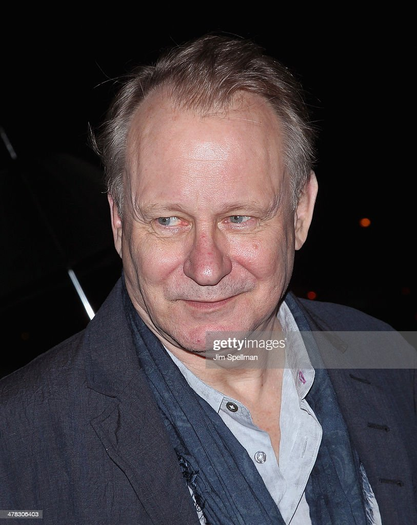 Actor Stellan Skarsgard attends Sony Pictures Classics' 'Only Lovers Left Alive' screening hosted by The Cinema Society and Stefano Tonchi, Editor in Chief of W Magazine at Landmark's Sunshine Cinema on March 12, 2014 in New York City.