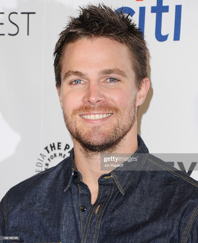 Actor Stephen Amell arrives at The Paley Center For Media's 32nd Annual PALEYFEST LA - 'Arrow' And 'The Flash' at Dolby Theatre on March 14, 2015 in Hollywood, California.