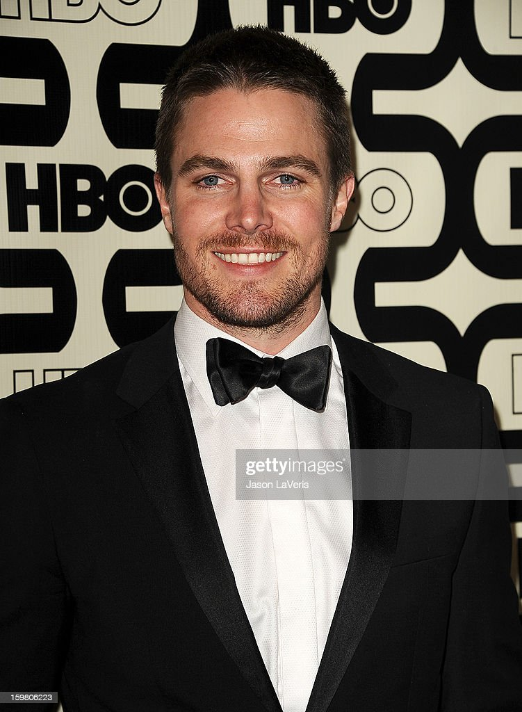Actor Stephen Amell attends the HBO after party at the 70th annual Golden Globe Awards at Circa 55 restaurant at the Beverly Hilton Hotel on January 13, 2013 in Los Angeles, California.