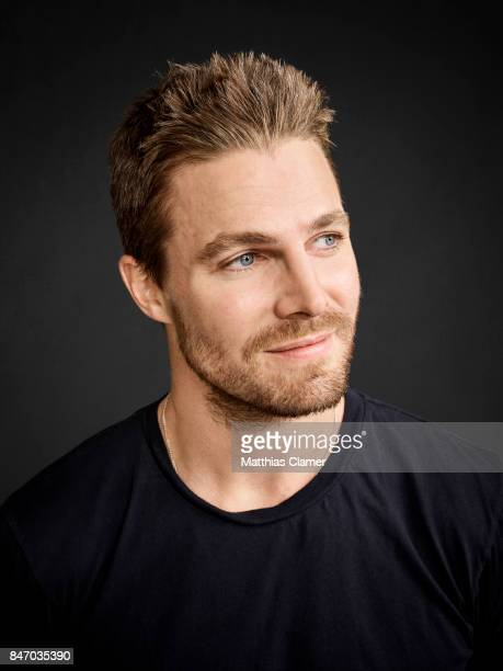 Actor Stephen Amell from 'Arrow' is photographed for Entertainment Weekly Magazine on July 23 2016 at Comic Con in the Hard Rock Hotel in San Diego...