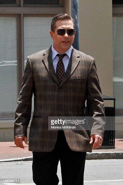 Actor Stephen Baldwin arrives at the US District Court Eastern District Of Louisiana on June 14 2012 in New Orleans Louisiana Stephen Baldwin...