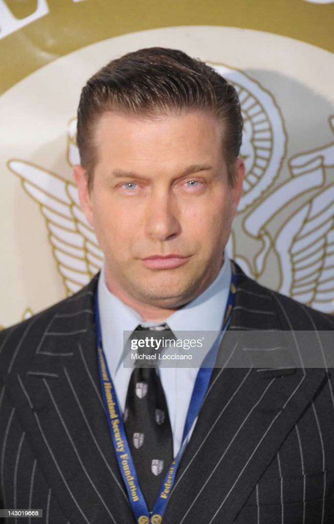 Actor Stephen Baldwin attends the 2012 Tom Ridge Homeland Security awards at the Grand Hyatt on April 17 2012 in New York City